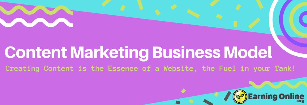 Content Marketing Business Model - Hero
