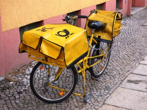 Opt In Email Marketing - postmans bike