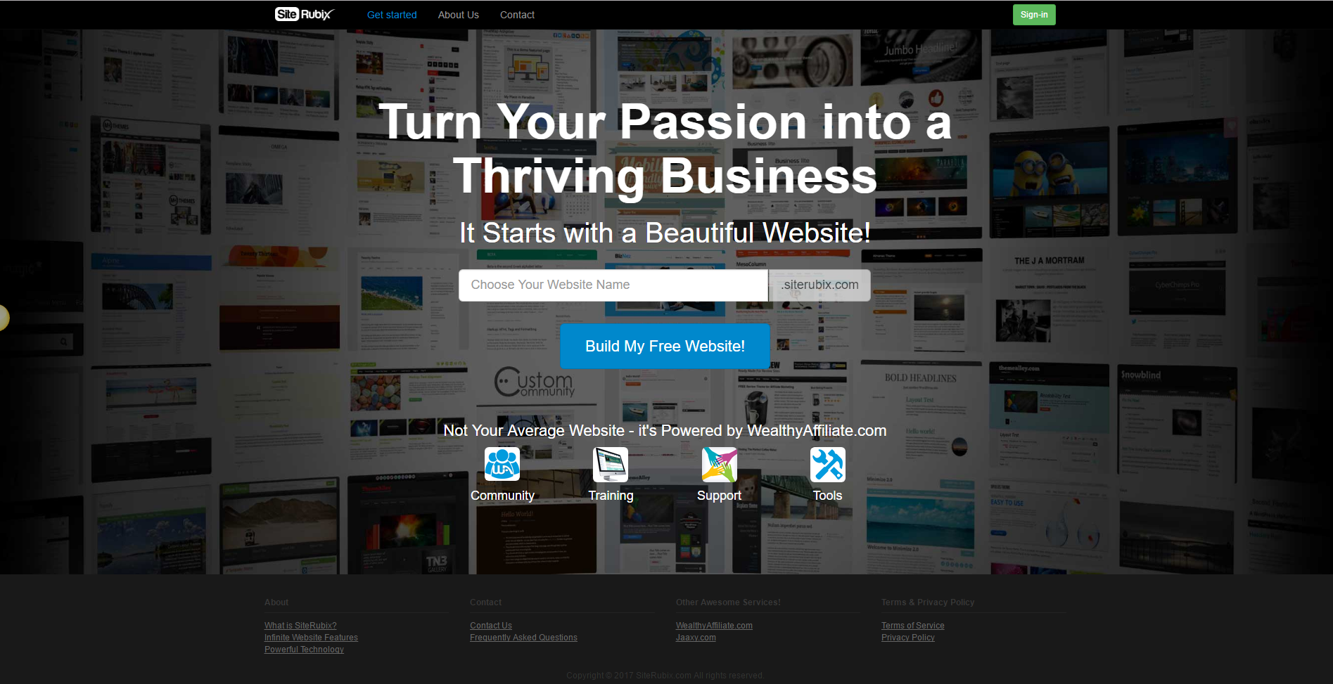 How to Build a Website for Free In less than 30 seconds - Website platform