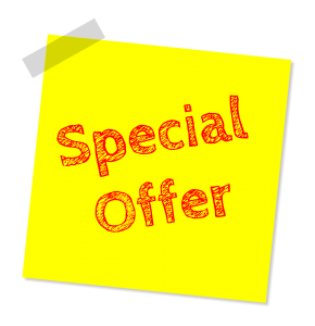 Getting Traffic to your Offers and Converting into Sales - special offer note