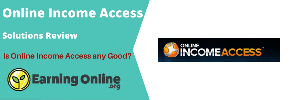 Online Income Access Review - Hero