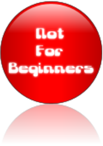 Not For Beginners button image: