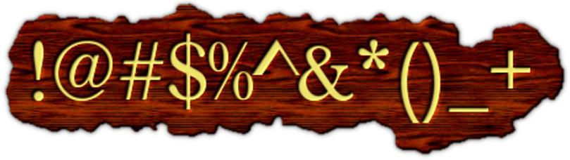 Coffee Shop Millionaire - text symbols