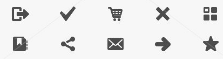 WordPress symbols screenshot: