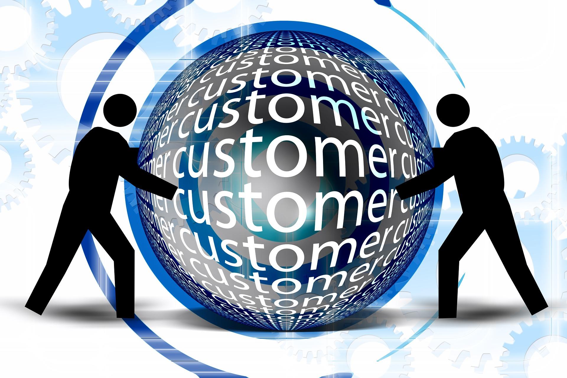 Customer text image: