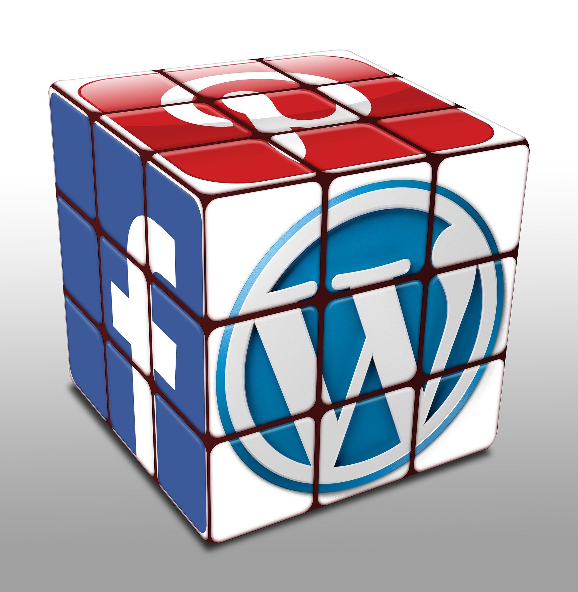A logo cube image: