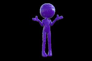 3D figure image: