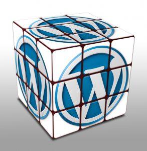 WordPress Logo Cube image: