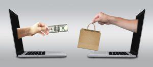 Online transaction image: