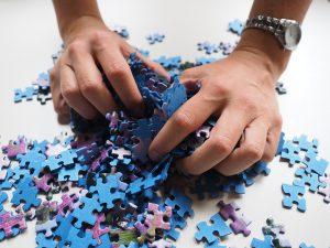 Puzzel Hands image: