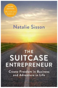 The Suitcase Entrepreneur - Book cover