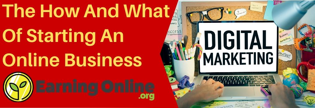 The How And What Of Starting An Online Business - Hero