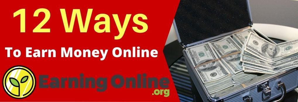 Ways To Earn Money Online - Hero