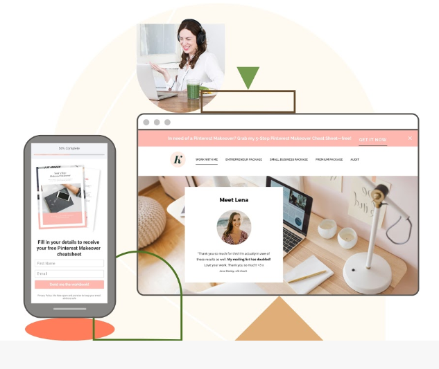 LeadPages Review - LeadPages website pic