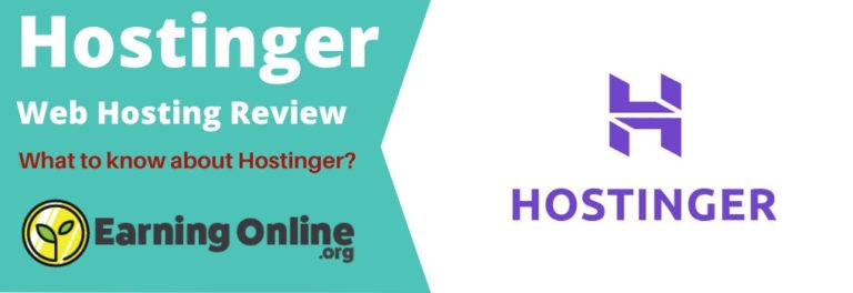 Hostinger Web Hosting Review - Hero