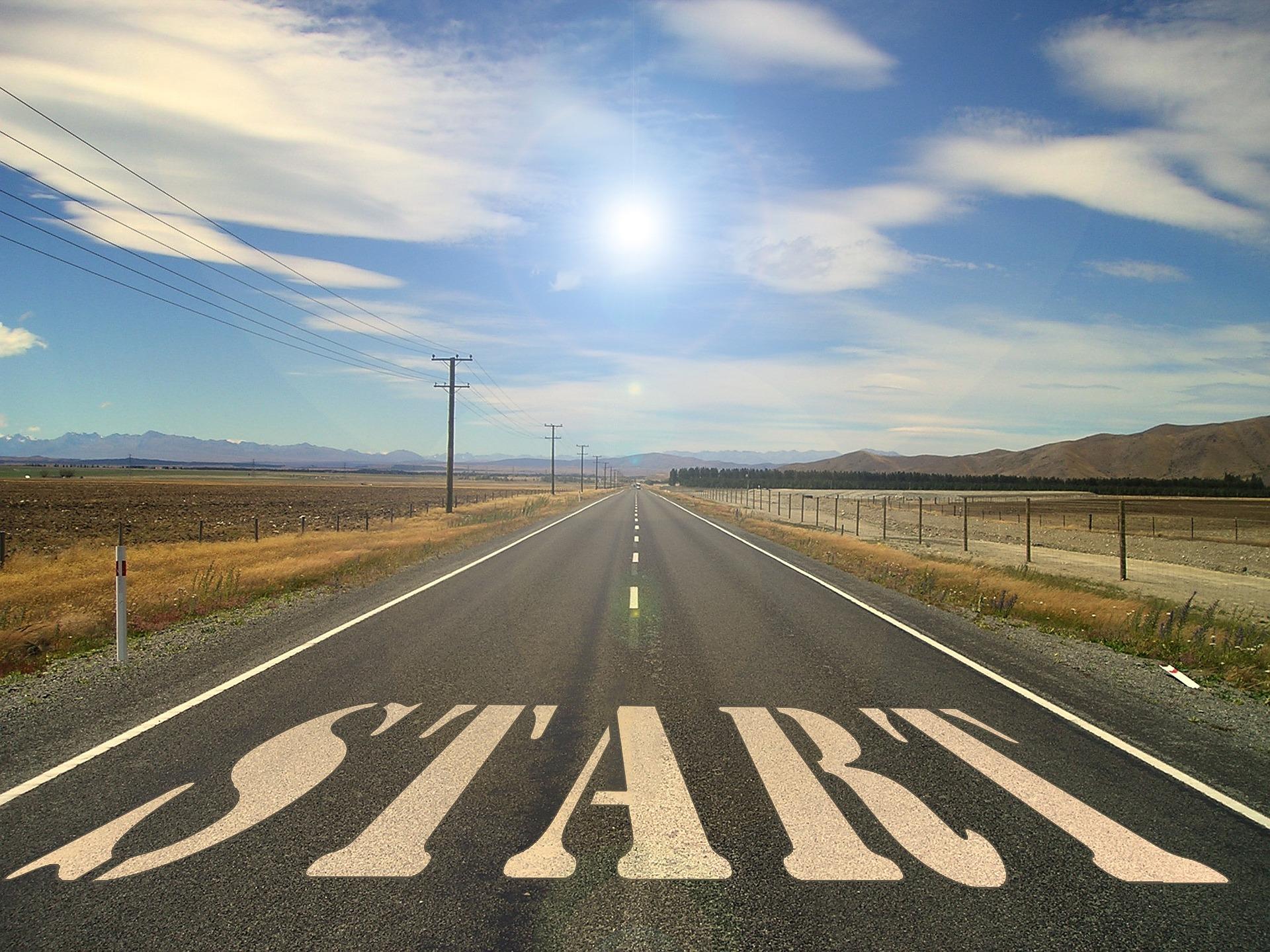 Hostinger Web Hosting Review - road start