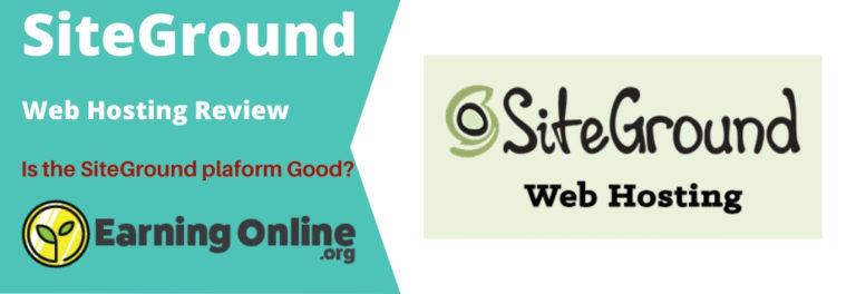 SiteGround Web Hosting Reveiw - Hero