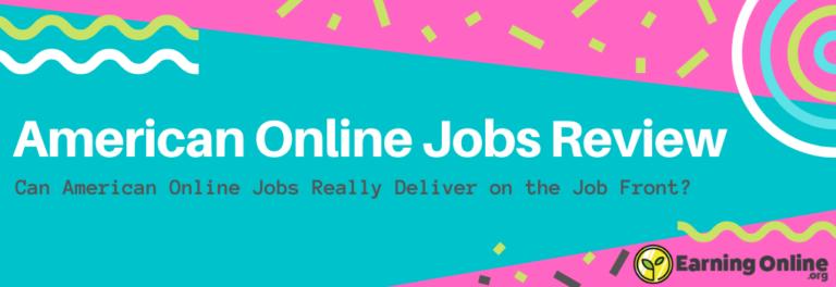 American Online Jobs Review - Hero