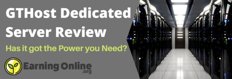GTHhost Dedicated Server Review - Hero