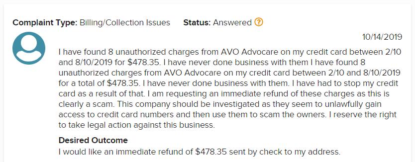Advocare MLM Review - Complaint