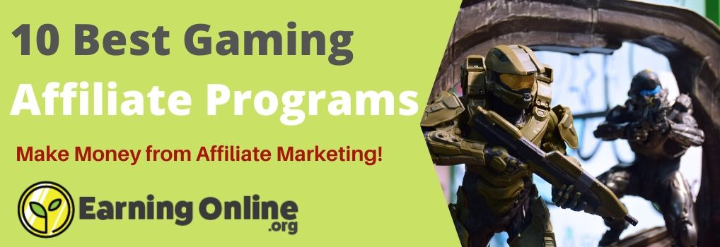 10 Best Gaming Affiliate Programs - Hero