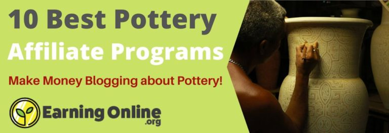 10 Best Pottery Affiliate Programs - Hero