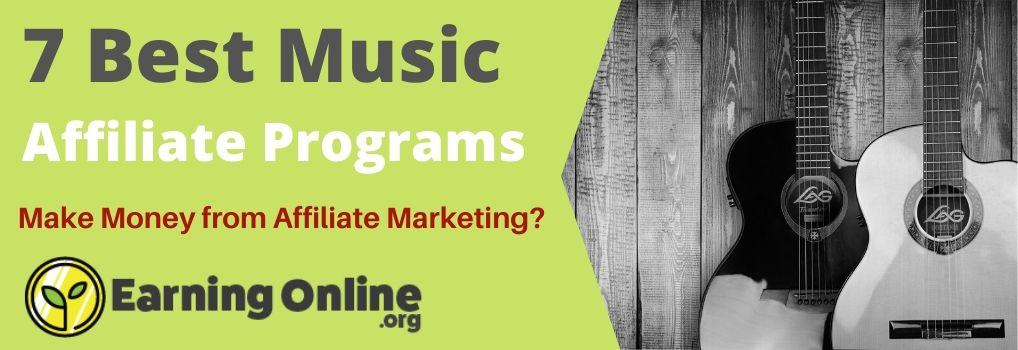 7 Best Music Affiliate Programs - Hero