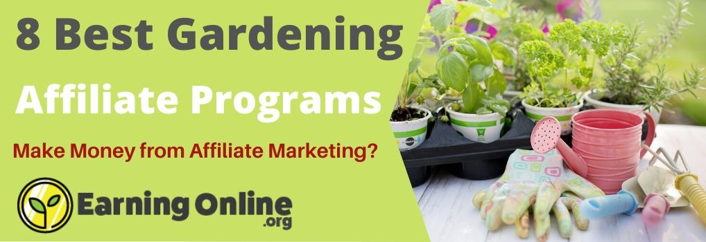8 Best Gardening Affiliate Programs - Hero