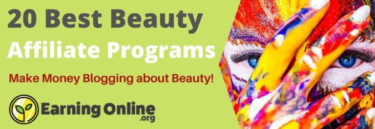 20 Best Beauty Affiliate Programs - Hero