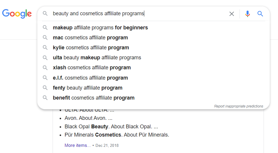 20 Best Beauty Affiliate Programs - Google Search