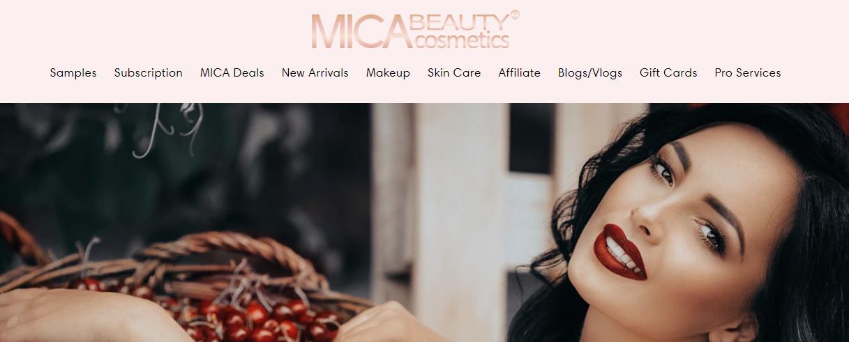 Mica Beauty Cosmetics - Affiliate Program