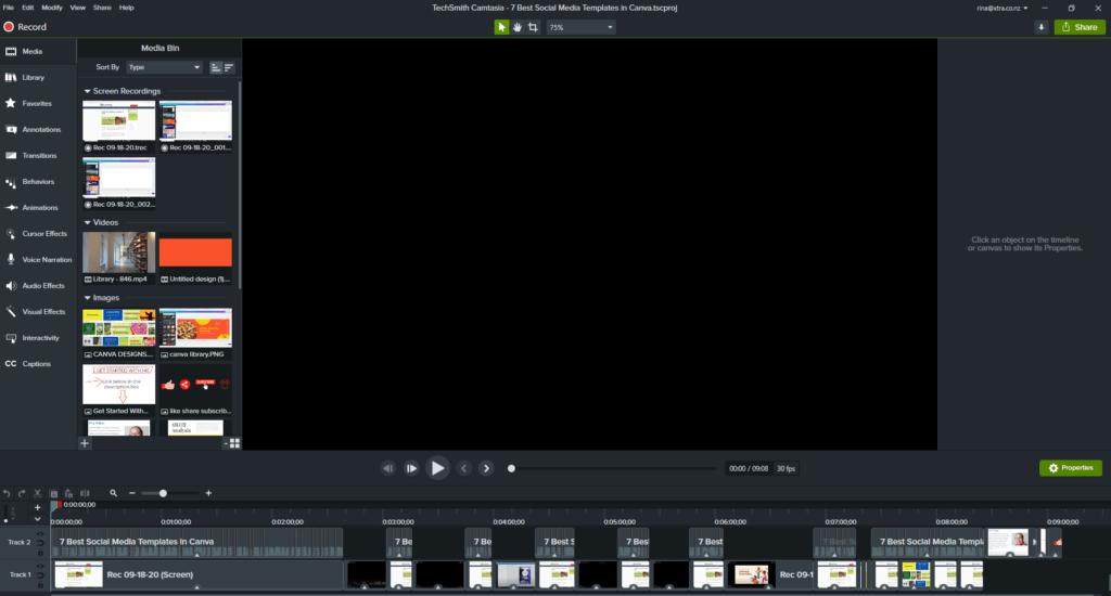 Camtasia Review - Video Editor