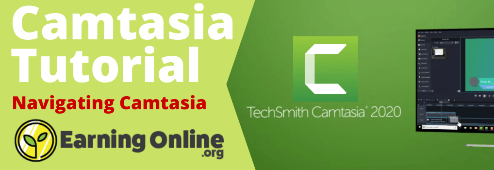 Camtasia Tutorial Navigating Camtasia - Hero