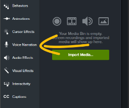 How to Navigate Camtasia - Voice Narration