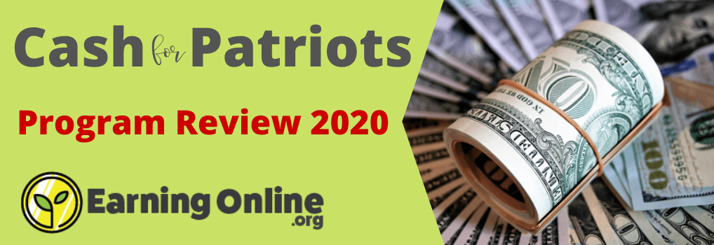 Cash for Patriots Program Review - Hero