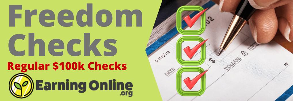 Freedom Checks Review - Hero