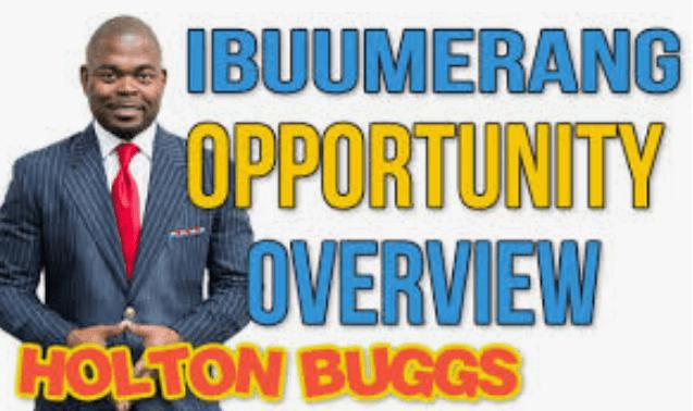 ibüümerang MLM Review - Holton Buggs CEO